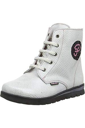 Pablosky Boys' 66003 Low-Top Sneakers, (Blanco Blanco)
