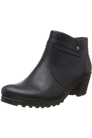 Rieker Women's Herbst/Winter Ankle Boots, (Navy 14)