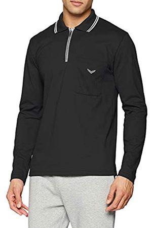 Trigema Men's Langarm Polo-Shirt