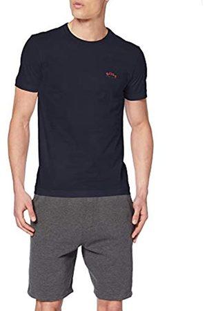 BOSS Men's Tee Curved Plain T-Shirt