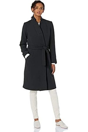 Daily Ritual Wool Belted Coat Jacket