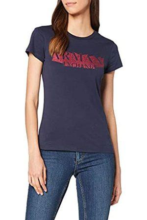 Armani Women's 3D Horizontal Logo T-Shirt