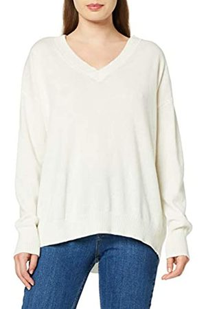 rich&royal Women's V-Neck Wool Cashmere Mix Jumper