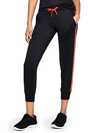 AURIQUE Amazon Brand - Women's Cropped Side Stripe Joggers, 12