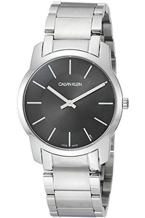 Calvin Klein Unisex Adult Analogue-Digital Quartz Watch with Stainless Steel Strap K2G22143