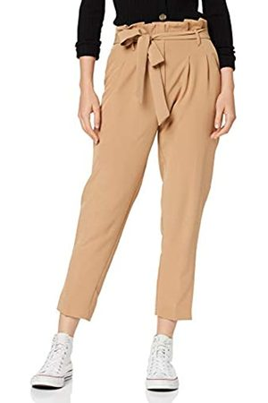 New Look Women's VICKY HW PBAG TRS Straight Leg Trousers