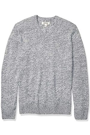 Goodthreads Supersoft Marled V-neck Sweater Denim