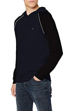 Tommy Hilfiger Men's Cotton Wool Blend Raglan Hoody Sweatshirt