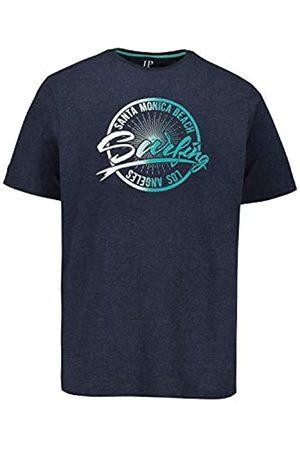 JP 1880 Men Short Sleeve - Men's Big & Tall T-Shirt Navy Melange XXXX-Large 726636 78-4XL