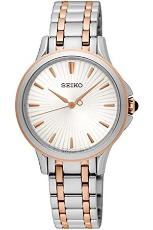 Seiko Women's Analogue Quartz Watch with Stainless Steel Strap SRZ492P1