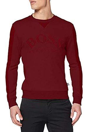 BOSS Men's Salbo Plain Sweatshirt Sweatshirt, Black (Black 653)