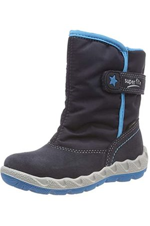 Superfit Boys' Icebird Snow Boots, (Blau/Blau 80 80)