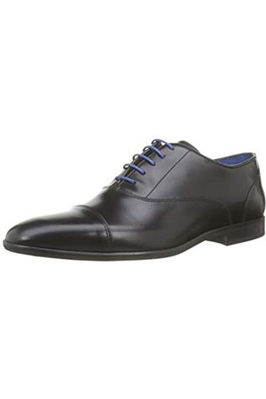 Azzaro Men's RAEL Oxfords, (Noir 02)