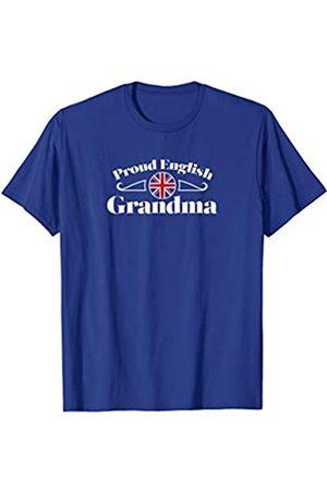 Ann Arbor Proud English Grandma   England Grandparent Pride T-shirt