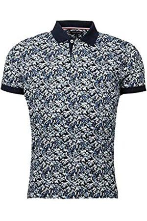 Tommy Hilfiger Men's Leaf Print Regular Polo Shirt