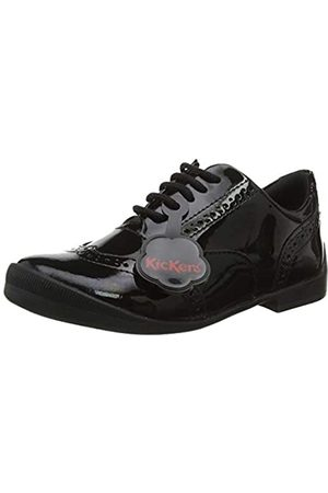 Kickers Girls' Bridie Brogues, ( Blk)