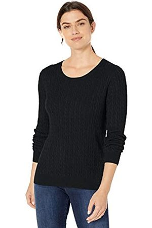 Amazon Lightweight Cable Crewneck Sweater
