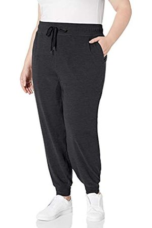 Amazon Essentials Women Stretch Trousers - Plus Size Brushed Tech Stretch Jogger Pant Sweatpants