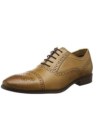 Red Tape Mens Hartwell Tan Formal Shoe, (Tan)