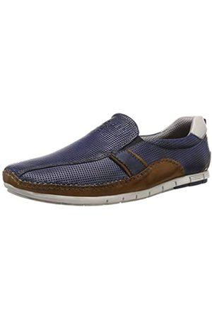 Bugatti Men's 321700604141 Loafers, (Dark /Cognac 4163)