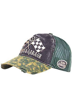 King Kerosin Men's Kustoms & Garage Baseball Cap
