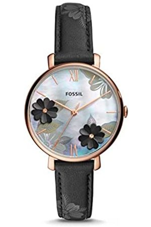 Fossil Womens Analogue Quartz Watch with Leather Strap ES4535