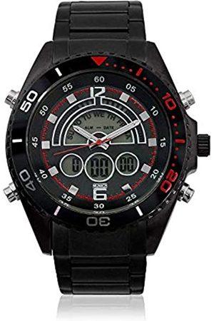 Munich Watches - Unisex Adult Digital Quartz Watch with Rubber Strap MU+124.1A