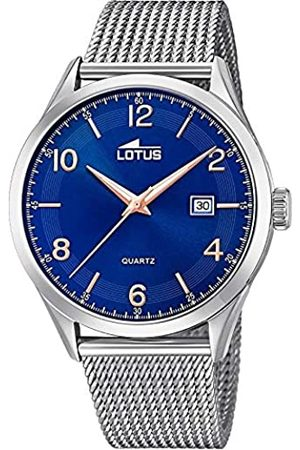 Lotus Mens Analogue Quartz Watch with Stainless Steel Strap 18631/3