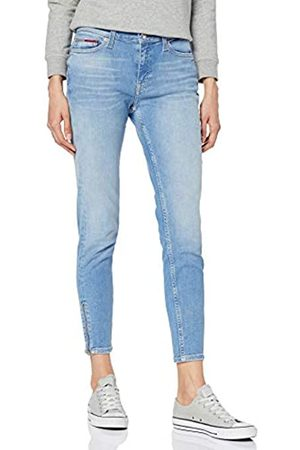 Tommy Jeans Women's MID Rise SKNY Nora 7/8 Zip CNYL Skinny Jeans