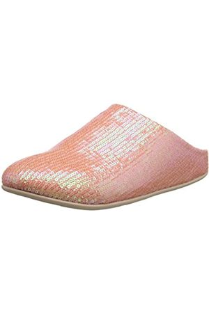 Fitflop Women's Chrissie Sequin Open Back Slippers, (Iridescent 762)