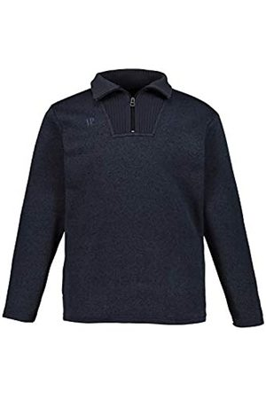 JP 1880 Men's Big & Tall Knitted Fleece Jumper Navy Large 723300 76-L