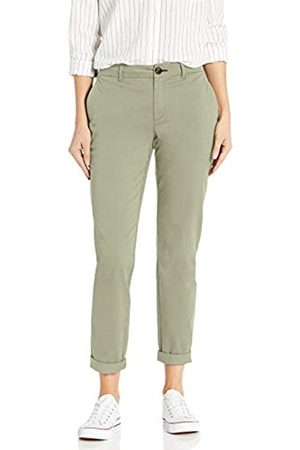 Goodthreads Girlfriend Chino Casual Pants, Dusty Olive