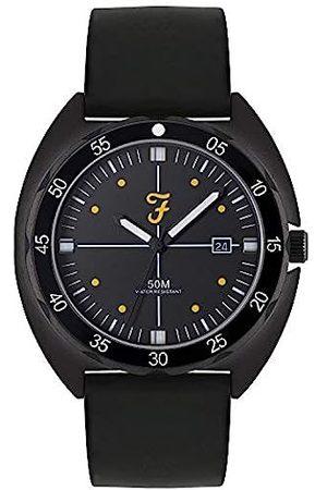 Farah Unisex Adult Analogue Classic Quartz Watch with Silicone Strap FAR2014