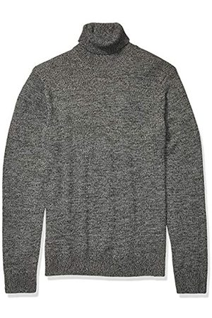 Goodthreads Supersoft Marled Turtleneck Sweater Charcoal