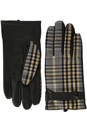 Scotch & Soda Men's Classic Wool-Panelled Leather Gloves