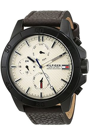 Tommy Hilfiger Men's Watch Analogue Quartz Leather 1791164