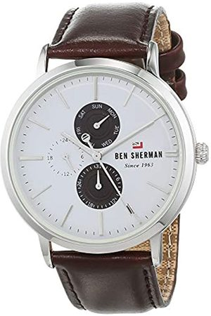 Ben Sherman Mens Analogue Classic Quartz Watch with Leather Strap WBS104BR