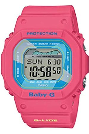 Casio Womens Digital Watch with Resin Strap BLX-560VH-4ER