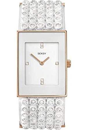 Sekonda Seksy Women's Quartz Watch with Dial Analogue Display and Plastic Strap 4855.37