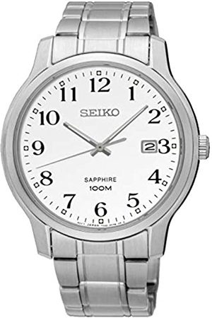 Seiko Men's Analogue Quartz Watch with Stainless Steel Strap SGEH67P1