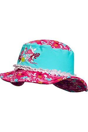 Playshoes Girl's UV Sun PRedection Sun Hat, Swim Cap Flamingo