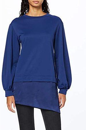 find. Women's Sweatshirt Satin Hem Long Sleeve