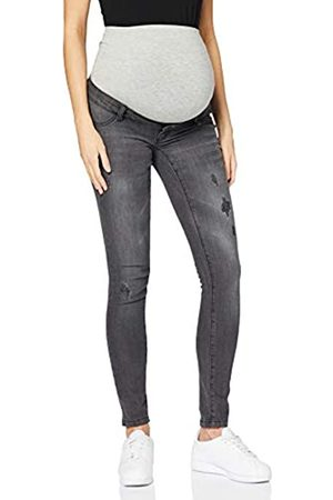 Mama Licious Women's Mljulia Slim Washed Jeans A. Trouser