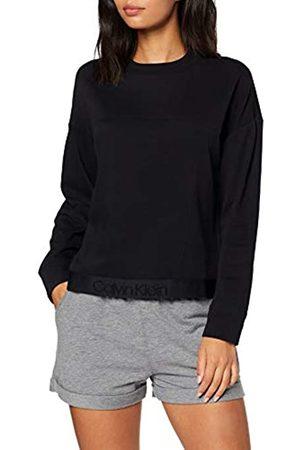 Calvin Klein Women's L/s Sweatshirt Thermal Trousers, ( 001)