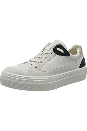 Legero Women's Lima Low-Top Sneakers, (Offwhite Kombi (Weiss) 14)