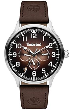Timberland Mens Analogue Quartz Watch with Leather Strap TBL15270JS.12
