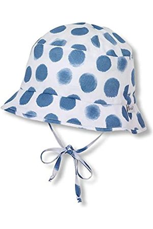 Sterntaler Fishing Hat with Dot Pattern and Bow Strings, Age: 18-24 Months, Size: 51 cm