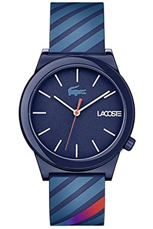 Lacoste Mens Analogue Classic Quartz Watch with Silicone Strap 2010934