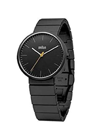 Braun 66559 Unisex Analogue Quartz Watch Ceramic BN0171BKBKG