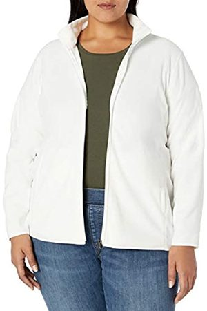 Amazon Essentials Plus Size Full-zip Polar Fleece Jacket Ivory